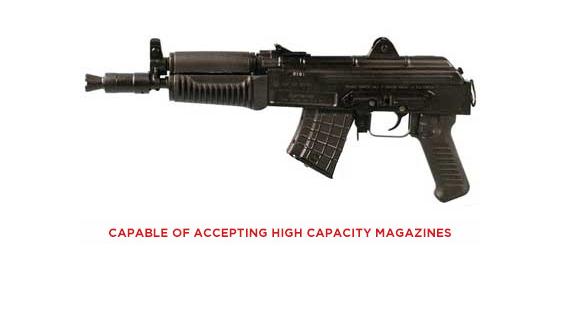 P-07 9mm 4 36 17 Round Black CZ 91289