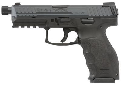 HK VP9 Tactical pistol in black